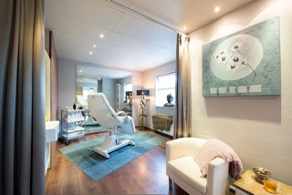 Interieurfoto Jebeau - behandelstoel